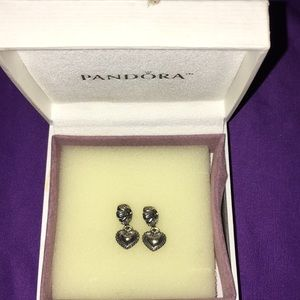 Pandora pair of Sister charms Authentic